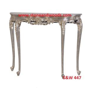 Silver Center Table S&W 447