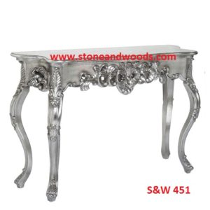 Silver Side Table S&W 451