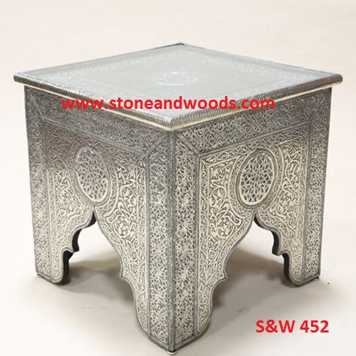 Silver Side Table S&W 452