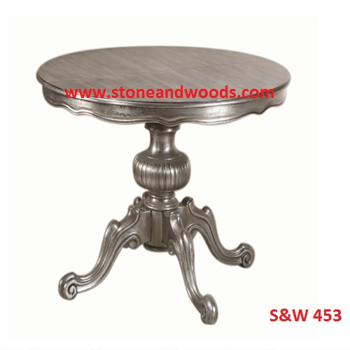 Silver Side Table S&W 453
