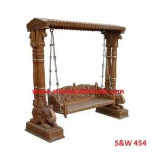 Wooden Carved Swing S&W 454