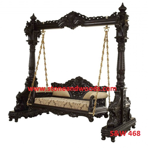 Wooden Carved Swing S&W 468
