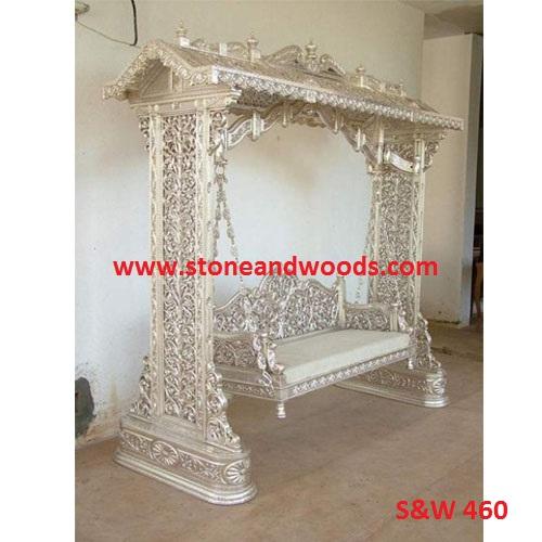 Silver Indoor Swing S&W 460