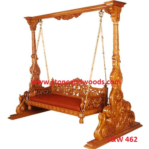 Wooden Carved Swing S&W 462