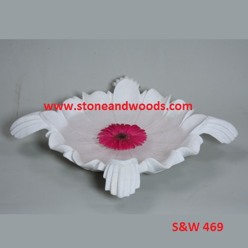 Marble Decorative Bowl S&W 469