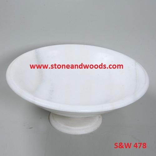 Marble Pedestal Bowl S&W 478