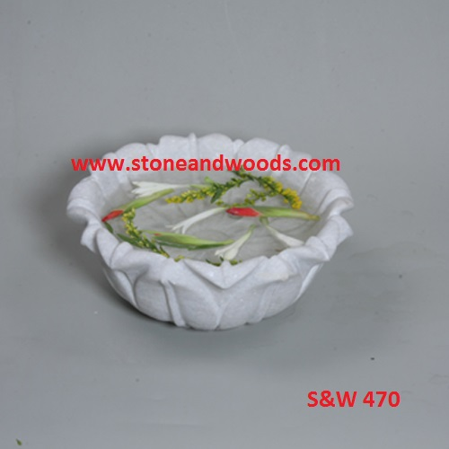 Marble Decorative Bowl S&W 470