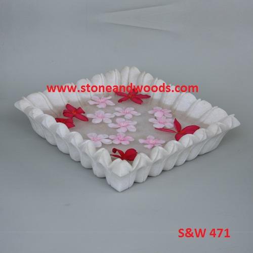 Marble Decorative Bowl S&W 471