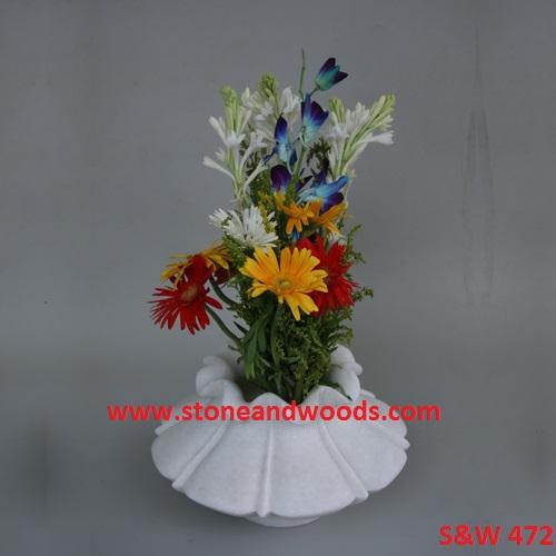 Marble Pedestal Bowl S&W 472