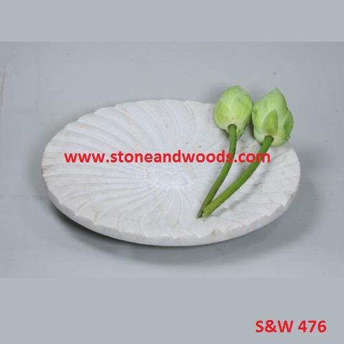 Marble Decorative Plates S&W 476