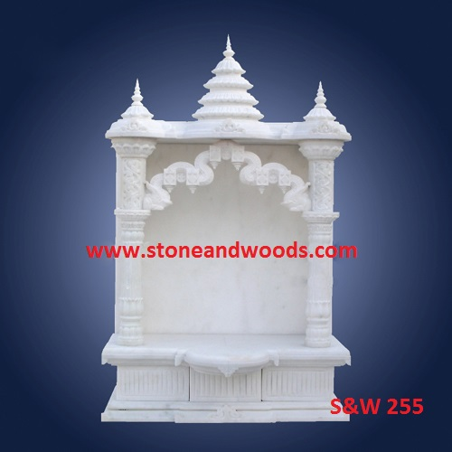 White Marble Temples S&W 255
