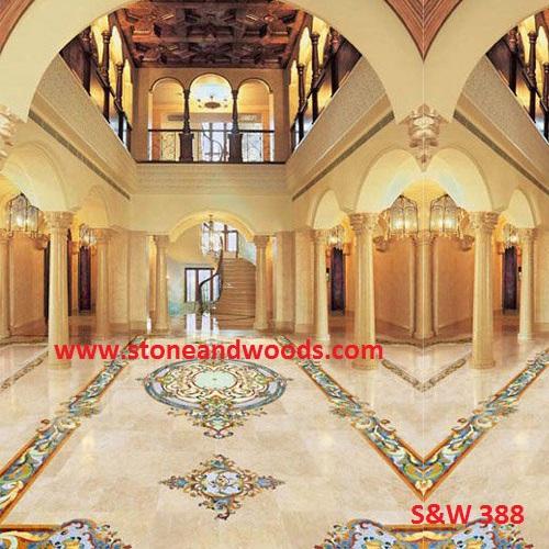 Marble Inlay Flooring S&W 388