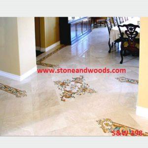 Inlay Work Marble Flooring S&W 398