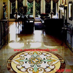 Inlay Work Marble Flooring S&W 399