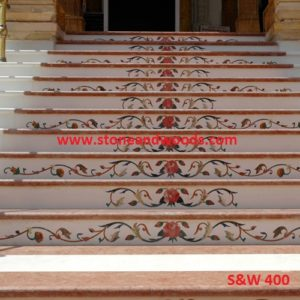Marble Inlay Tiles S&W 400