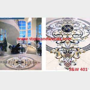 Marble Inlay Tiles S&W 401