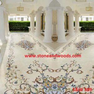 Marble Inlay Flooring S&W 389