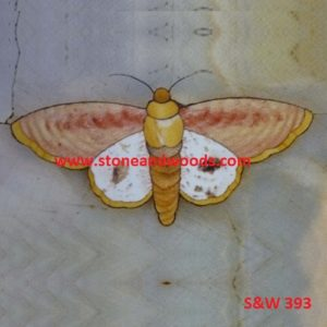 Butterfly Ceramic Tile S&W 393