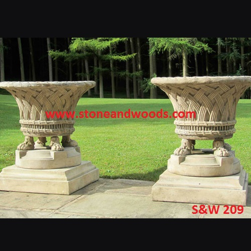 Modern Outdoor Planters S&W 209