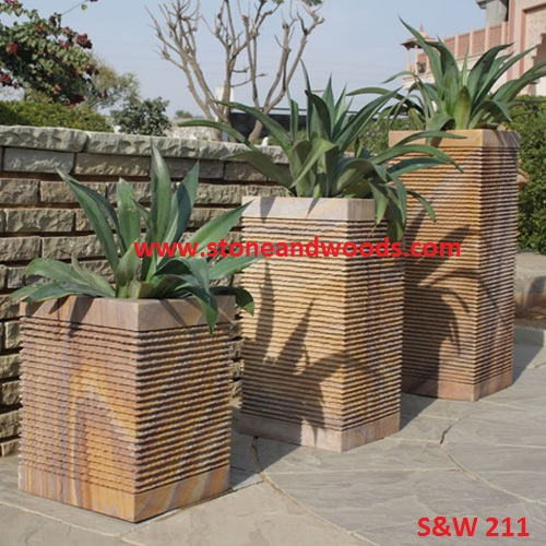 Modern Outdoor Planters S&W 211