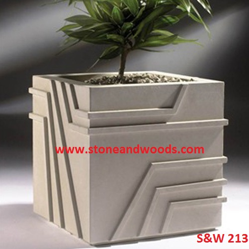 Modern Outdoor Planters S&W 213